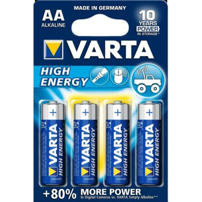 Bateria VARTA  HIGH ENERGY AA LR6